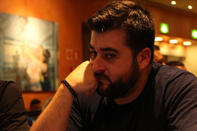 Antonio Montoza se convirtió en líder destacado del Día 1a 0001