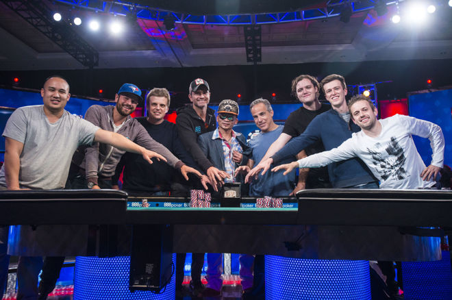 """WSOP """"Lapkričio devynetukas"""": pirmąją finalo dieną išgyveno 5 žaidėjai 0001"""