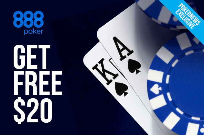 Limited Time Offer: A Free $20 at 888poker 0001