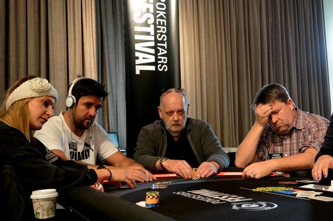Andre Akkari, Peter Smyth, Chris Moneymaker