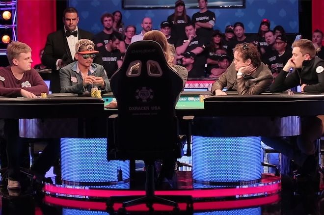 The 2016 World Series of Poker Main Event final table (November Nine)