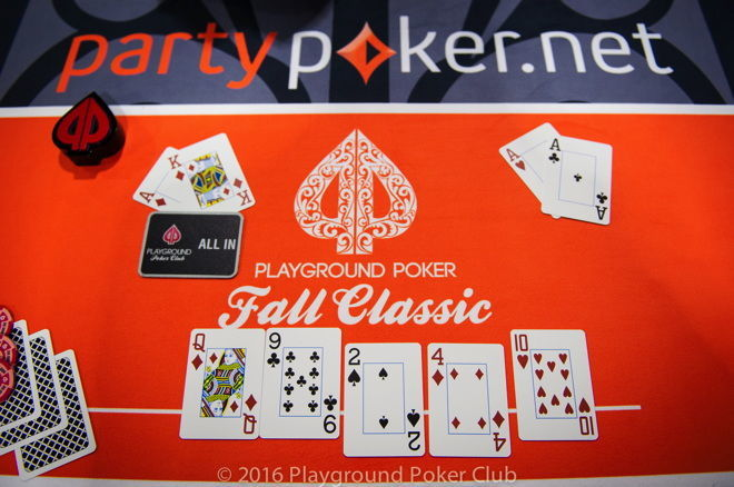 Event 1 Final Hand Playground Poker Fall Classic