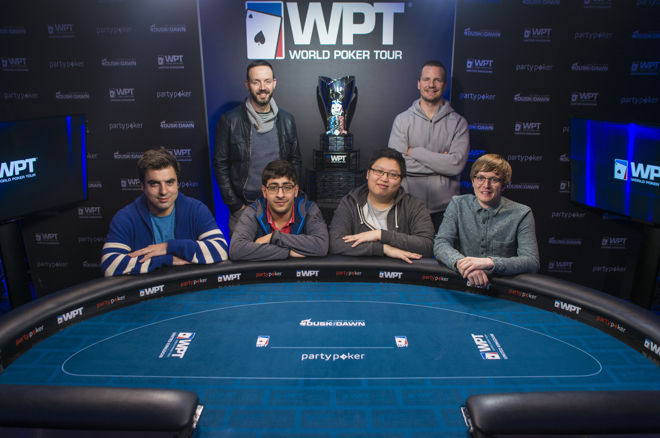2016 partypoker WPT UK Main Event Final Table