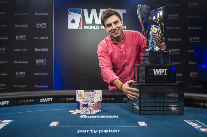 Luís Rodríguez gana el World Poker Tour UK por £200.000; Nabil Cardoso terminó 3.º 0001
