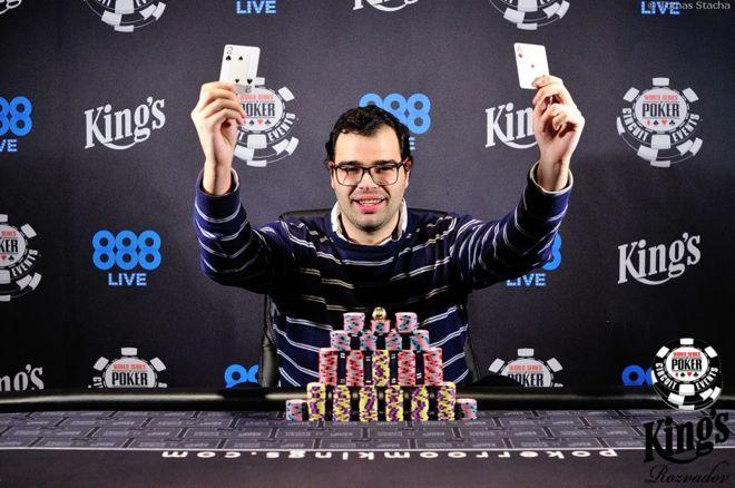 Paul Lozano consigue un anillo de las WSOP ganando el Monster Stack de 550€ 0001