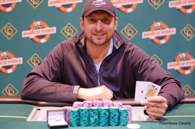 Dave Desanghere Casino Regina Harvest Poker Classic