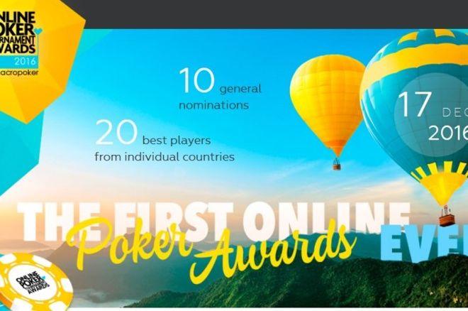 """PokerNews Boulevard - Marcopoker kondigt eerste """"Online Poker Tournament Awards"""" aan"""