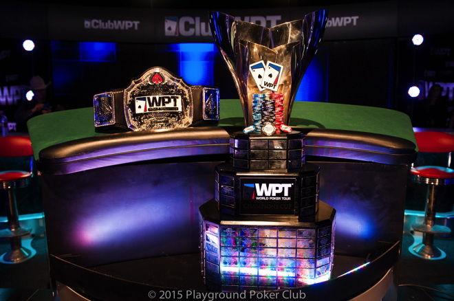WPT Trophy Belt 2015