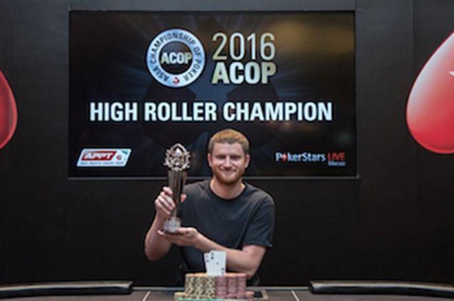 """ACOP """"High Roller"""" laimėjo Davidas Petersas, šalia prizų buvo ir Laurynas Levinskas 0001"""