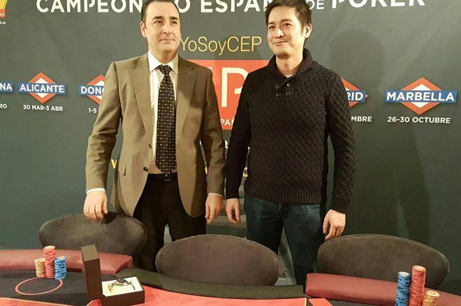 Liron Hu Yu Campeón de España de Poker 2016 0001
