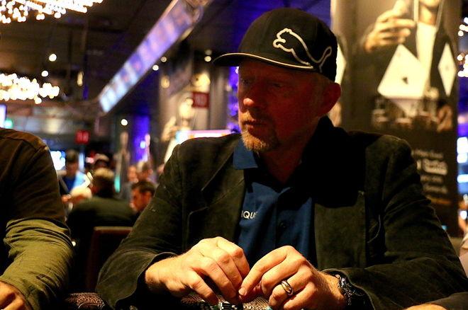 PokerNews Boulevard - Boris Becker & Jan Jachtmann tekenen contract bij partypoker