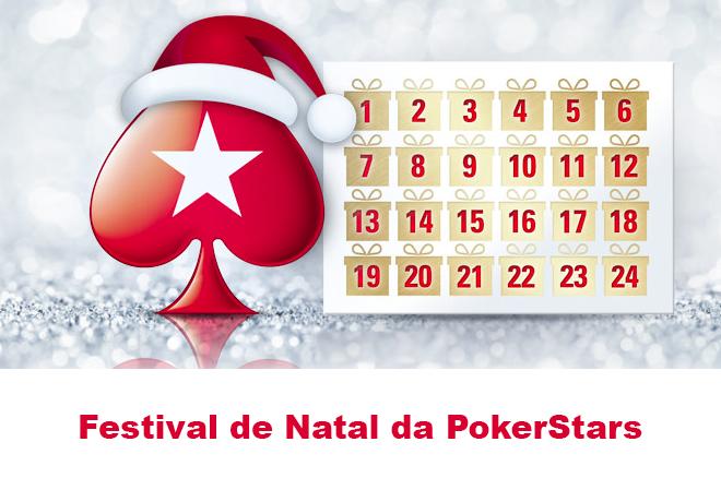 festival natal pokerstars