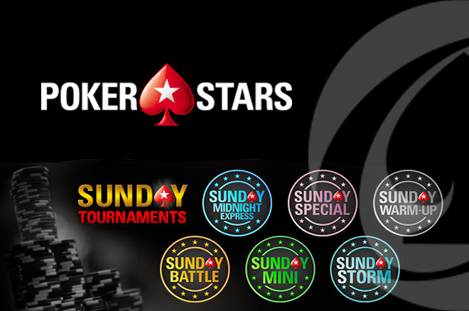 Sunday Tournaments PokerStars.pt