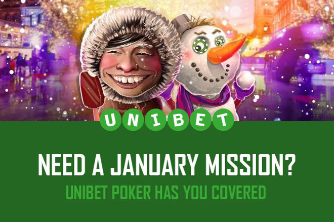 Unibet Poker January challenges