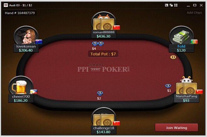 PPIPOKER.net Table Image