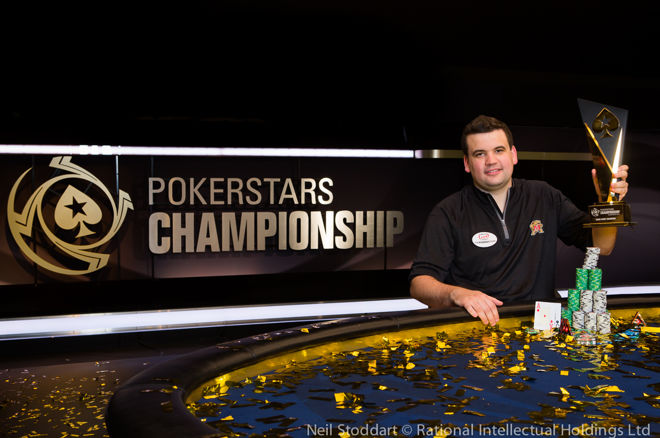 Christian Harder, PokerStars Championship Bahamas Main Event champion