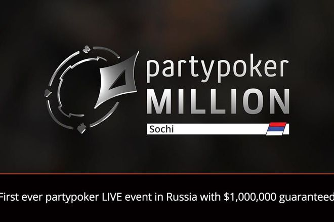 partypoker LIVE Million National Sochi