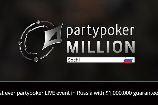 partypoker LIVE Million National Sochi