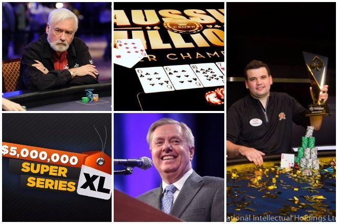 Turbo: Tom McEvoy, Super XL, Aussie Millions, Lindsey Graham, Christian Harder