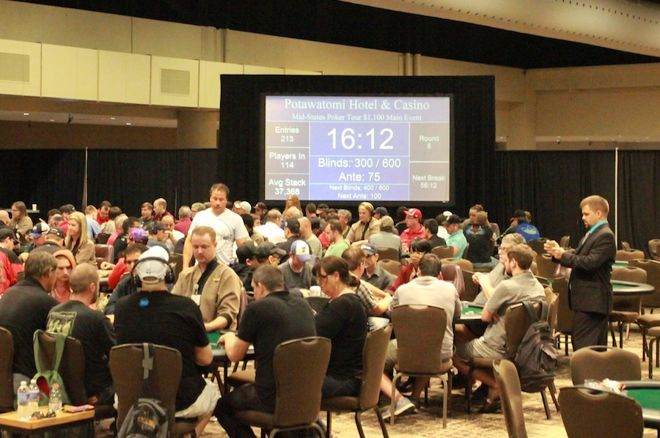 Poker at the Potawatomi Hotel and Casino