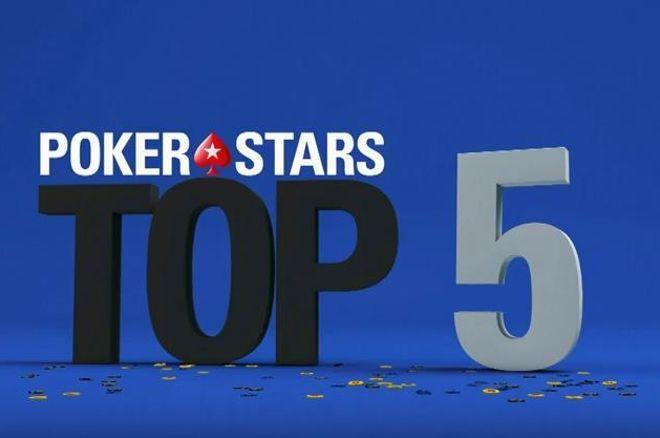 top 5 pokerstars