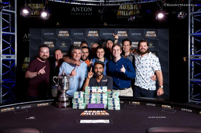 2017 Aussie Millions Main Event Winner Shurane Vijayaram