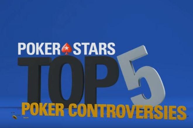Top Five Poker Controversies