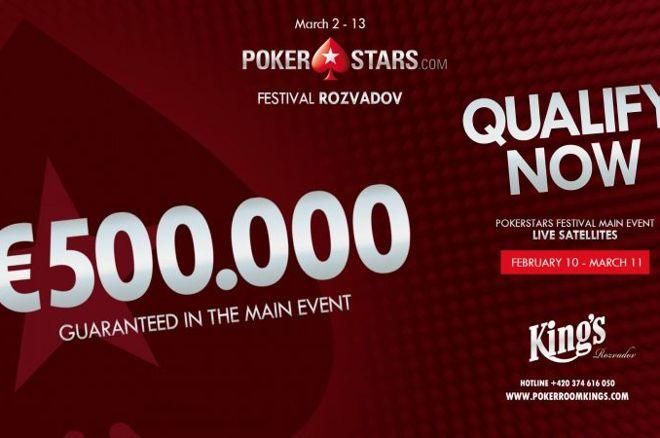 170 Satellite Seats für das PokerStars Festival Rozvadov 0001