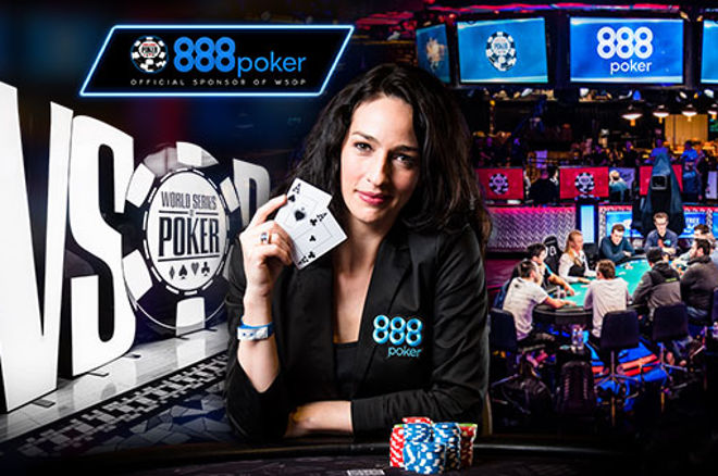 World Series of Poker/888poker Kara Scott