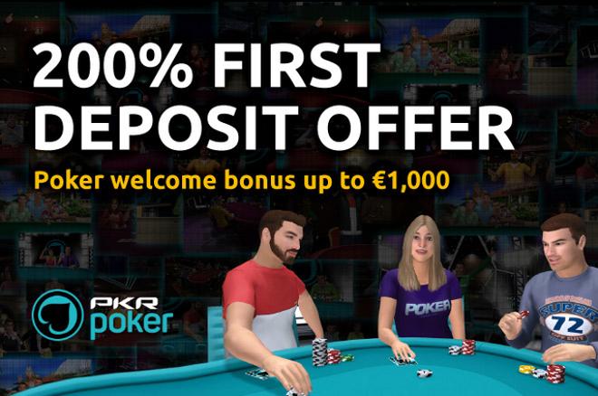 PKR Poker Welcome Bonus