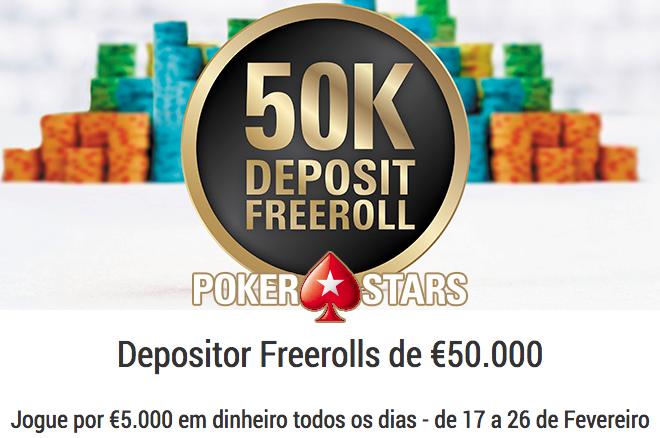 50k depositor freerolls