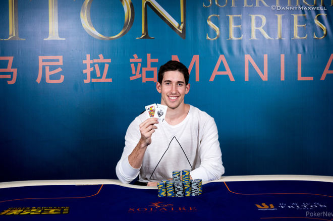 Daniel Colman wint Triton 6-Max-titel in Manila voor HK$3.641.600 ($473.408)