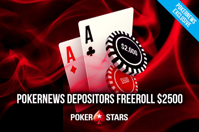 PokerStars $2,500 Depositors Freeroll
