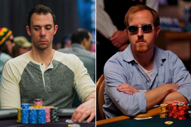 Matt Berkey (left) and Andrew Brokos (right)