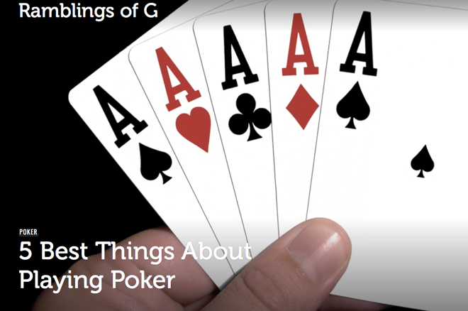 The 5 Best Things About Playing Poker