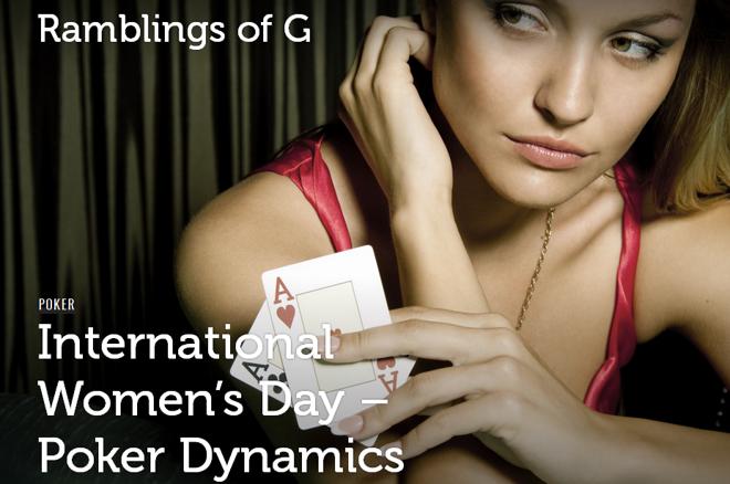 International Women's Day - Poker Dynamics