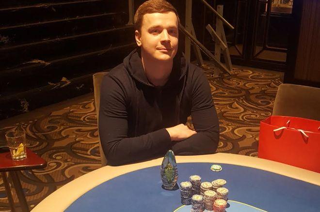 """Vakar startavo """"Kaunas Spring Poker Cup"""" - pirmas laureatas Donatas Dapkevičius 0001"""