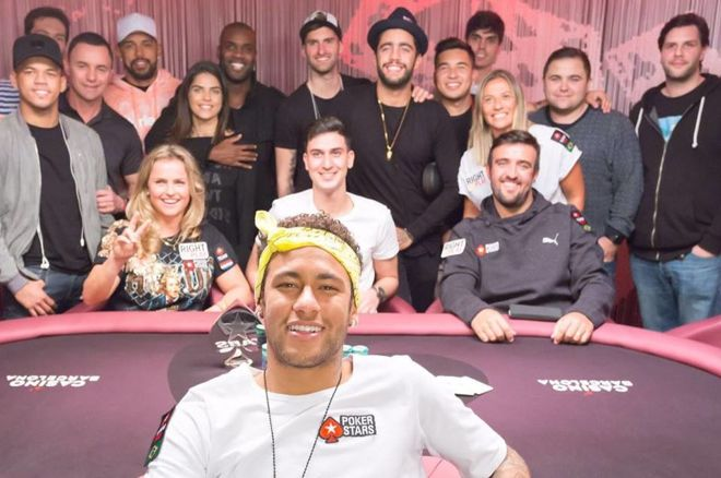 Neymar Jr. and PokerStars