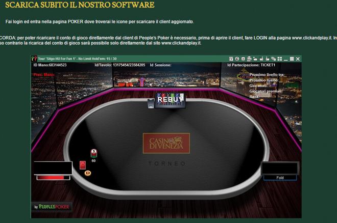 La Nuova Poker Room di Clickandlpay