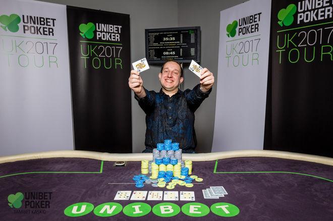 Unbet UK Poker Tour - Mateusz Krzyżewski
