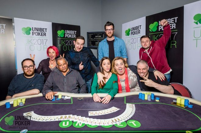2017 Unibet Poker UK Tour Aaron McBride