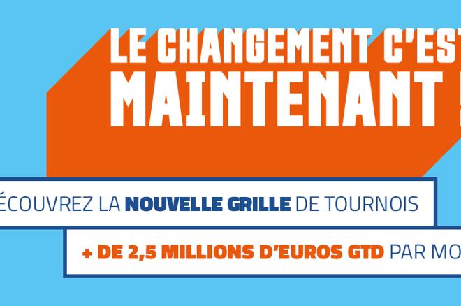 PMU Poker : Une nouvelle grille et 2,5 millions d'euros à se partager chaque mois 0001
