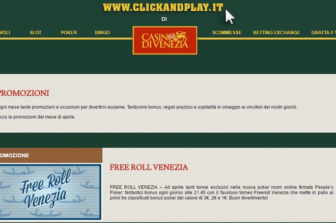 Casino di Venezia freeroll