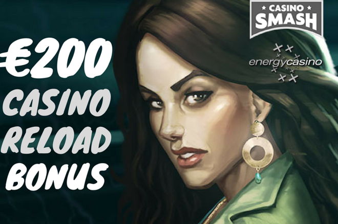 Claim up to €400 in casino bonuses and plenty of free spins at Energy Casino!