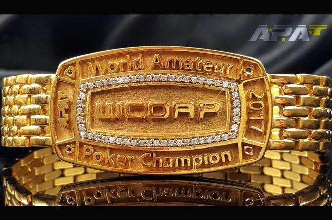 WCOAP Main Event Bracelet