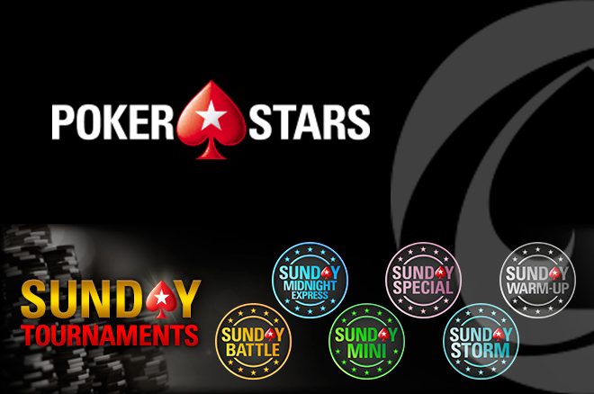 Sunday Tournaments PokerStars.pt