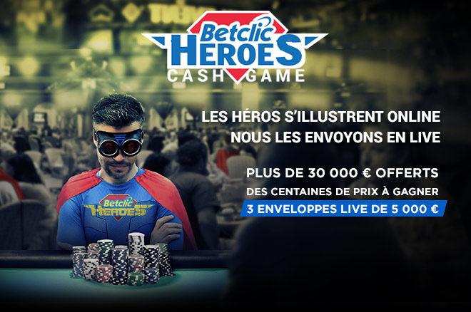 BetClic : Devenez un Héros et prenez votre part des 31.000€ 0001
