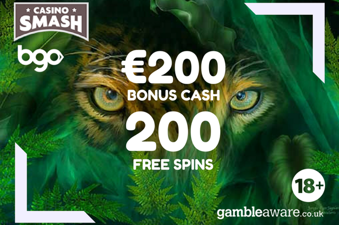 Your Gift: 200 Free Spins & A €200 Cash Bonus!