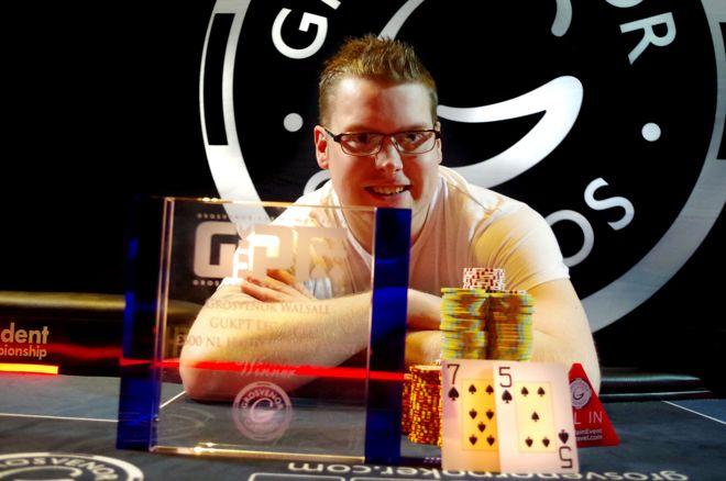 Gareth Howard: 2017 GUKPT Walsall champion