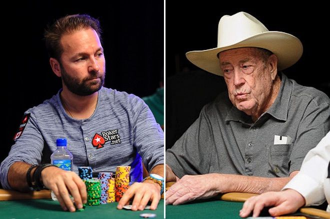 Daniel Negreanu and Doyle Brunson
